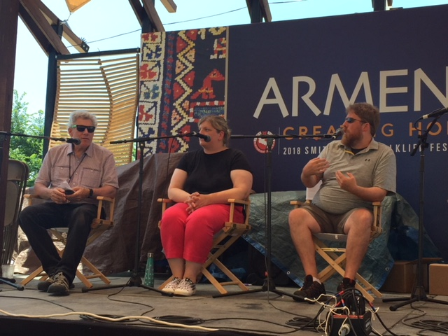 Panel discussion on Armenian stage