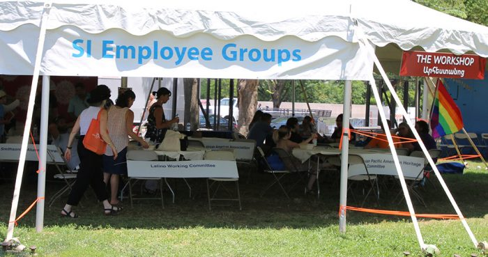SI Employee Groups Tent