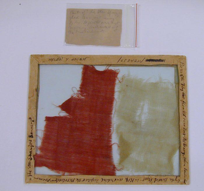 scrap of flag