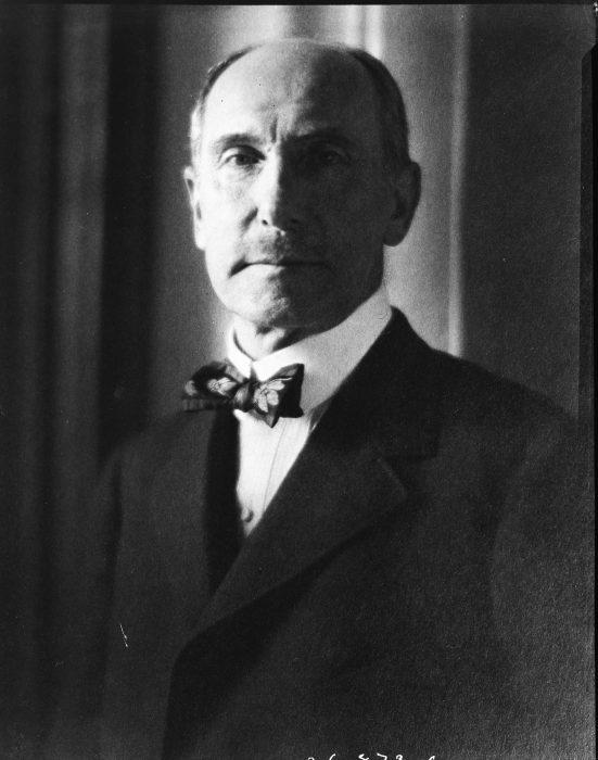 Formal portrait of Freer