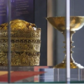 Golden cup and crown