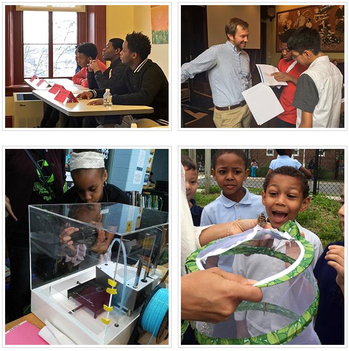Collage of DC public schoolstudents