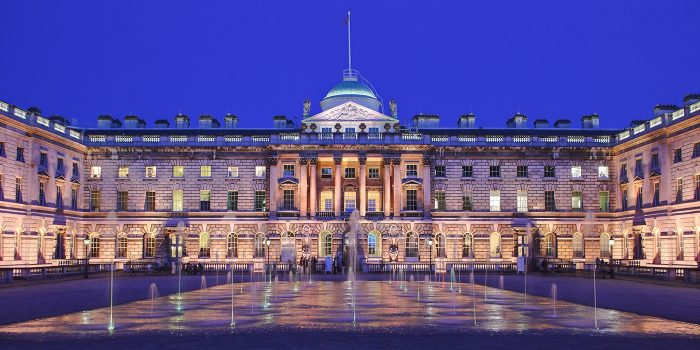 Somerset House at twilight