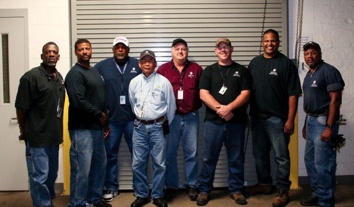 Group photo of team members