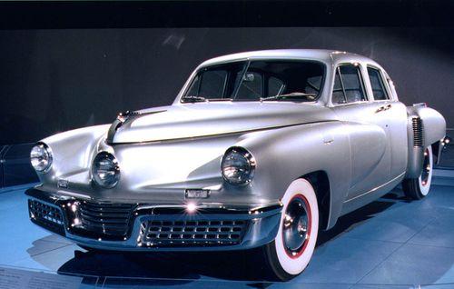 Silver Tucker automobile