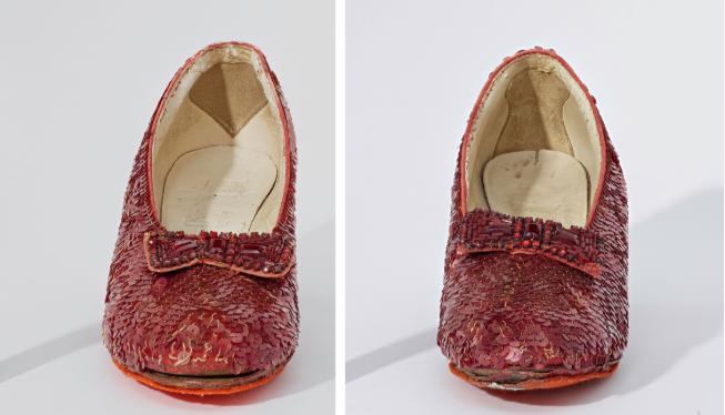 Front comparison of both shoes