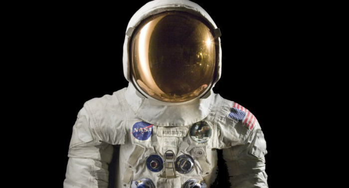 Armstrong suit and helmet