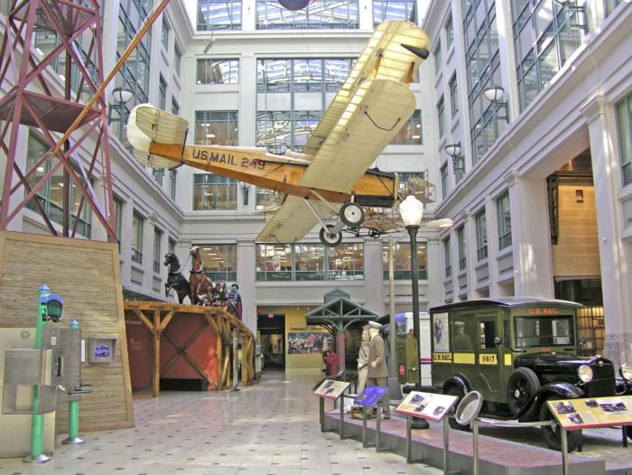Postal Museum atrium