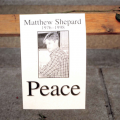 Poster of Shepard with word Peace