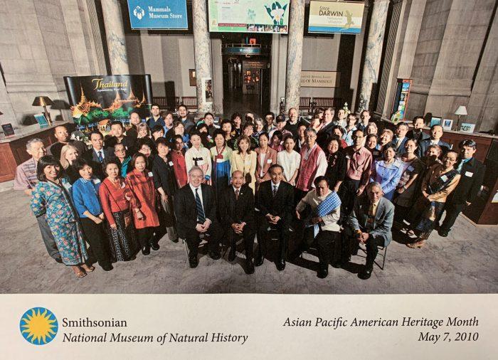 Group shot at Natural History