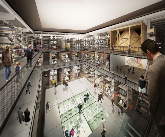 Artists rendering of V&A East Gallery