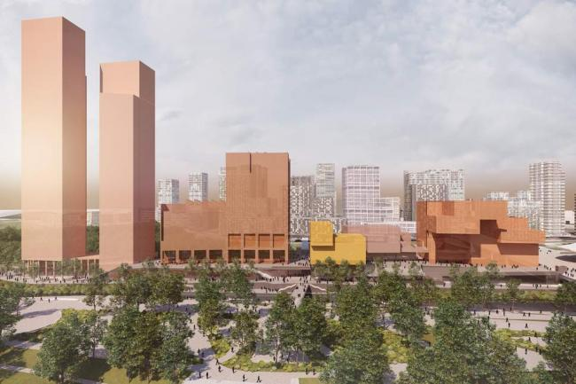 Artists rendering of V&A East