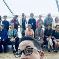 Volunteers behind Kris