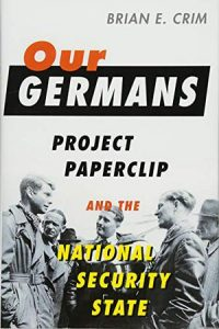 "Book cover ""Our Germans...."""