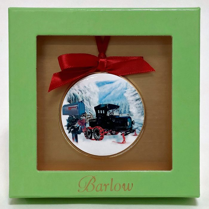 Ornament with Model T