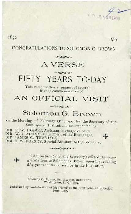 Title page of poen