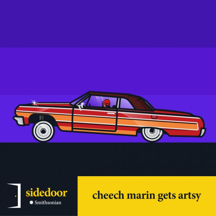 Sidedoor: Cheech Marin Gets Artsy