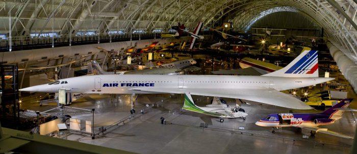 Air France Concorde F-BVFA in Hangar