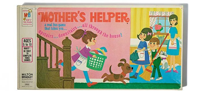 "Game box ""Mother's Helper"""
