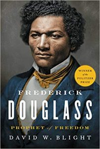 Book cover: Frederick Douglass, Prophet of Freedom by David W Blight