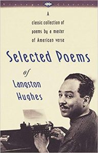 Book cover: Selected poems of Langston Hughes