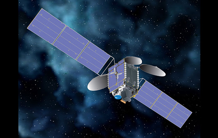 Maxar satellite carrying TEMPO instruments