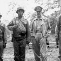 McArthur with Native American soldiers
