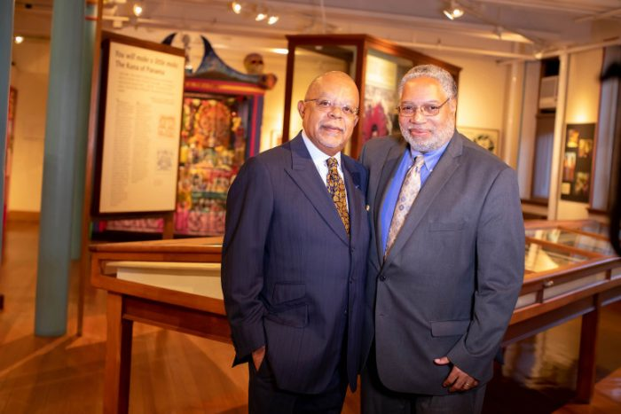 Lonnie Bunch and Henry Louis Gates at Harvard