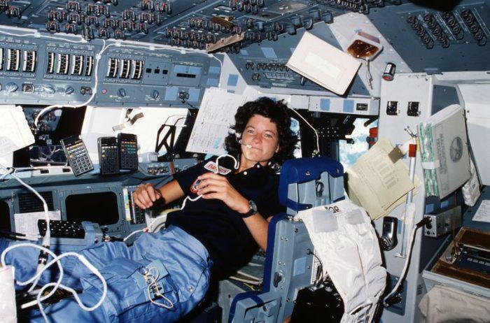 Sally Ride inspace capsule