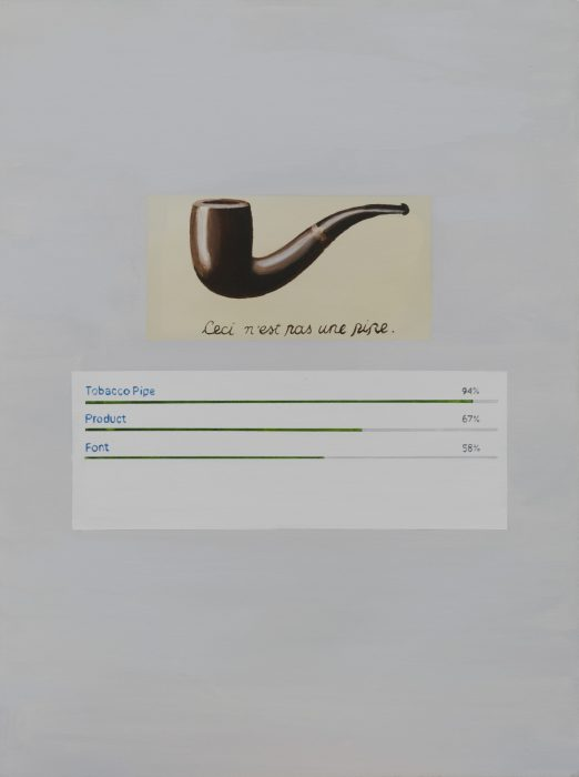painting of tobacco pipe