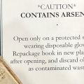 Arsenic warning label