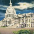 Painting of US Capitol Building