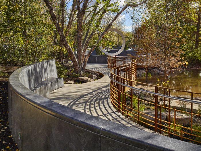Approach to Native Veterans Memorial