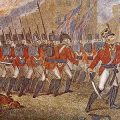 illustration of British redcoats